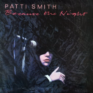 "Patti Smith - Because The Night (12"") (VG++/VG)"